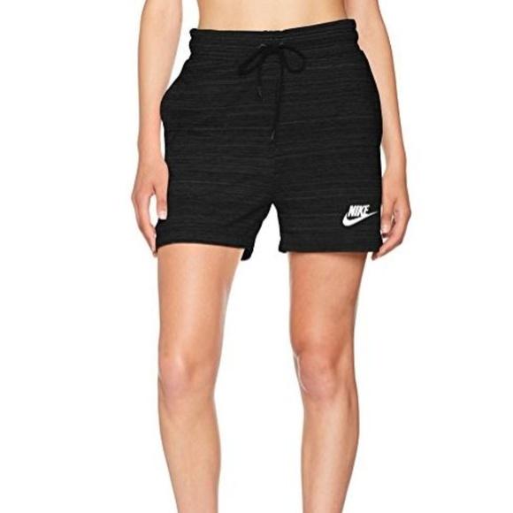fd83a694ddd04 Nike Shorts | Womens 45 French Terry Black M | Poshmark